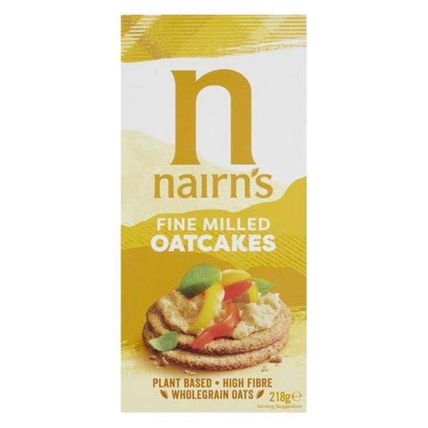 Fine Oatcakes no added sugar, wheat free