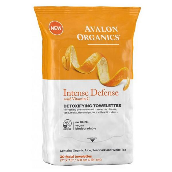 Intense Detoxifying Towlettes Wipes Vegan, ORGANIC