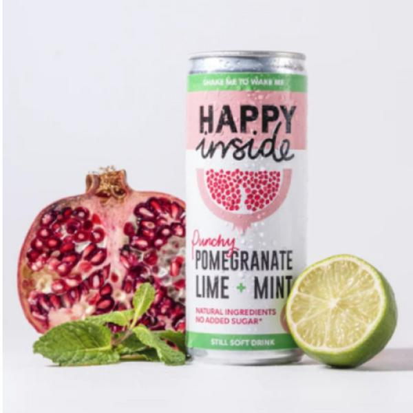 Pomegranate,Lime & Mint Drink Gluten Free, no added sugar, Vegan