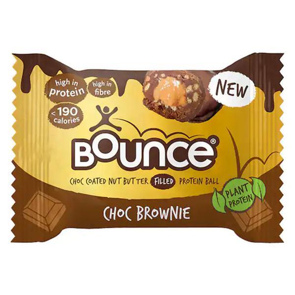 Dipped Choc Brownie Protein Ball Gluten Free, Vegan