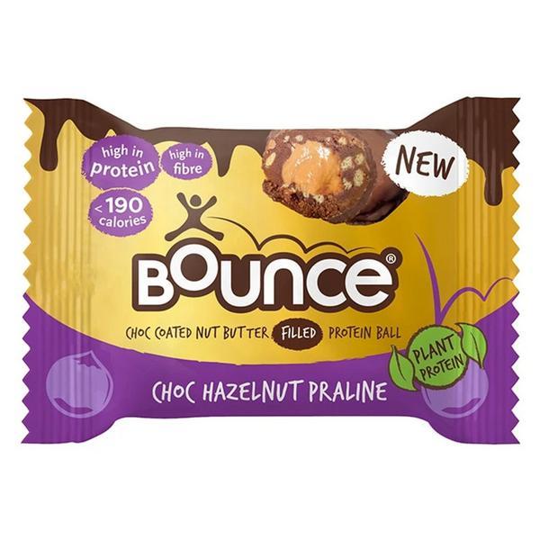 Dipped Hazelnut Protein Ball Gluten Free, Vegan