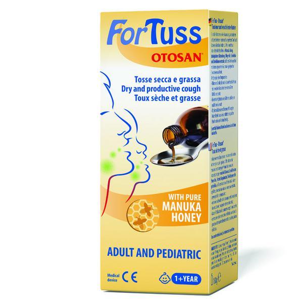 ForTuss with pure Manuka Honey Gluten Free, ORGANIC