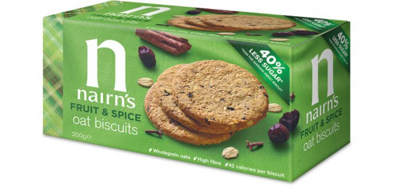 Fruit & Spices Biscuits Vegan, wheat free