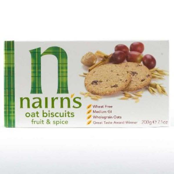 Fruit & Spices Biscuits Vegan, wheat free image 2