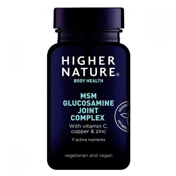 Joint Complex MSM Glucosamine Gluten Free, sugar free, yeast free, wheat free