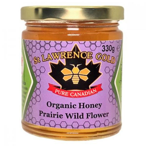 Organic Prairie Wild Flower Honey ORGANIC