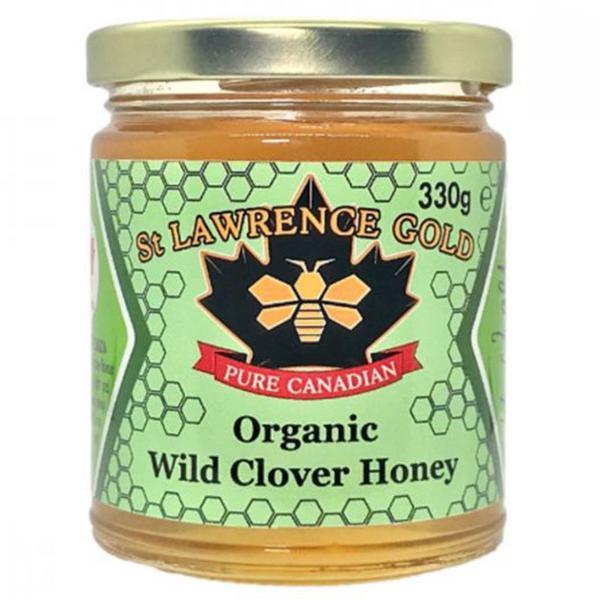 Organic Wild Clover Honey ORGANIC
