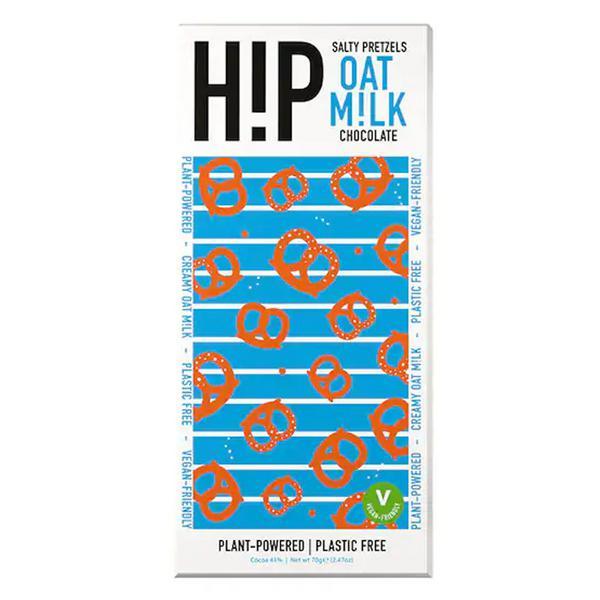 Oat Milk Chocolate Salty Pretzels Vegan