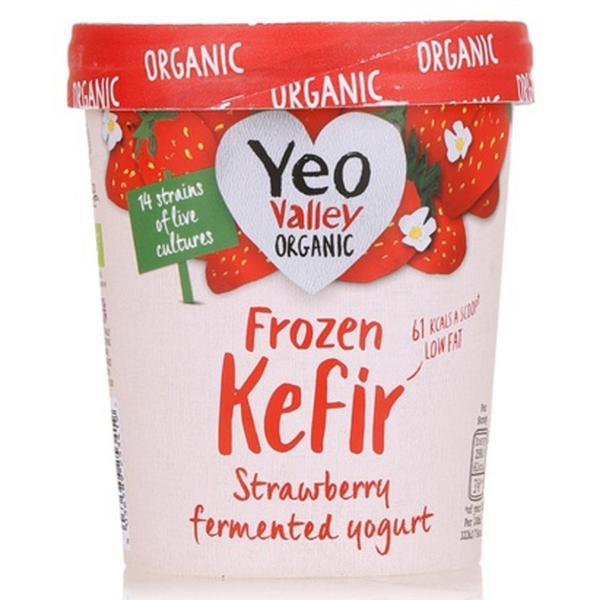 Frozen Yoghurt Strawberry Kefir ORGANIC