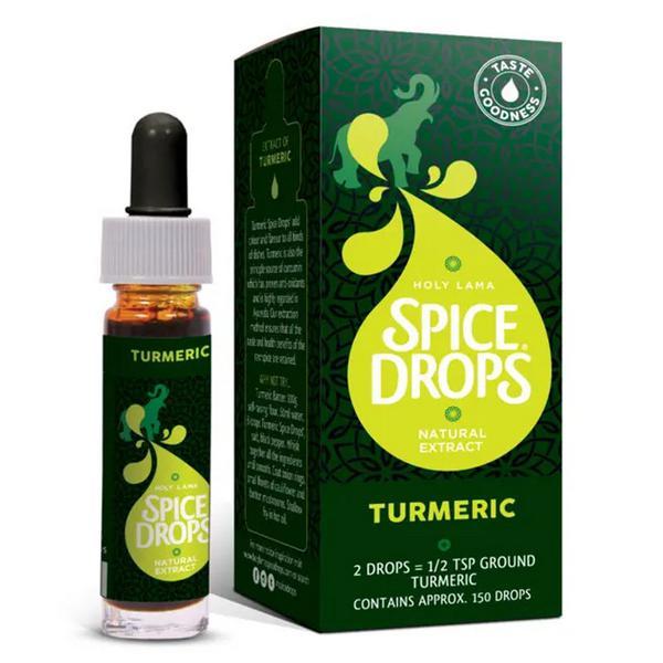 Spice Drops Turmeric Extract Gluten Free, GMO free, sugar free, Vegan