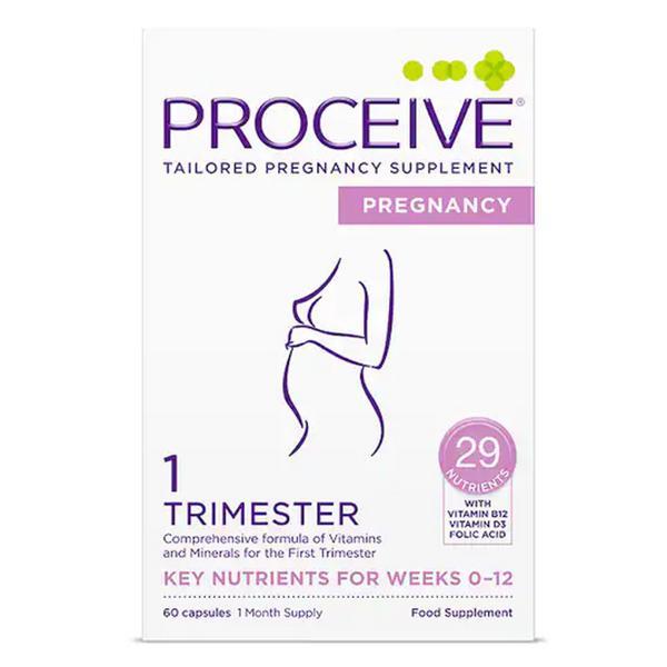 Pregnancy Trimmester 1 Capsules Gluten Free, Vegan