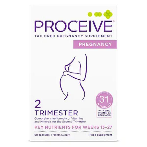 Pregnancy Trimmester 2 Capsules Gluten Free, Vegan