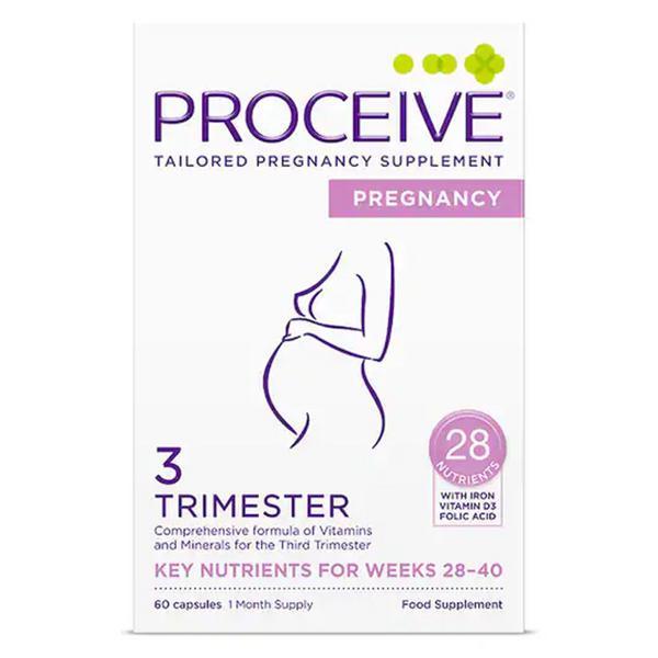 Pregnancy Trimmester 3 Capsules Gluten Free, Vegan