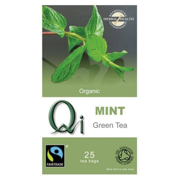 Green Tea with Mint FairTrade, ORGANIC