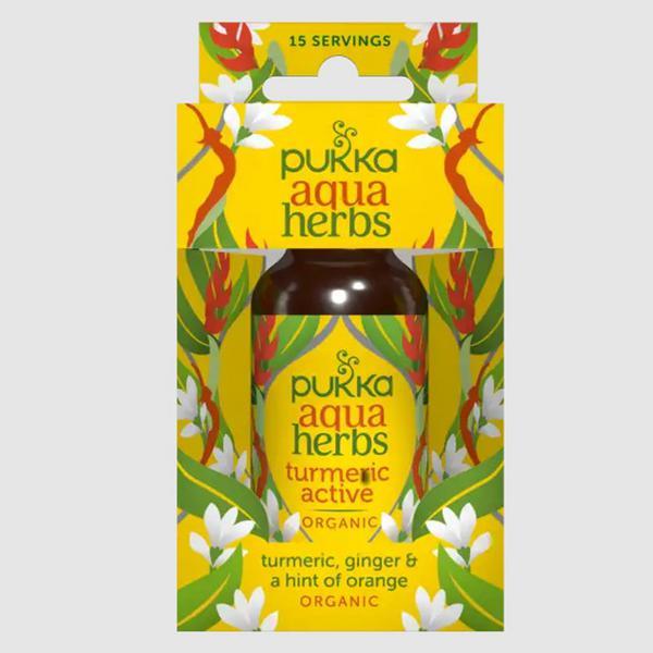 Active Turmeric Aqua Herbs Decaffeinated, ORGANIC