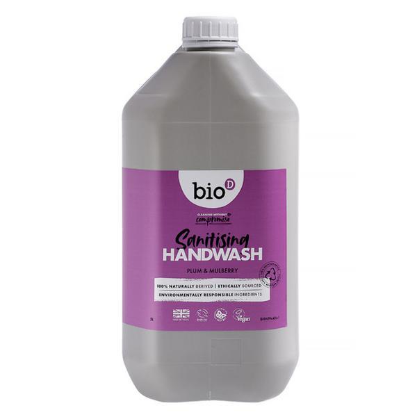 Sanitising Plum & Mulberry Hand Wash Vegan image 2