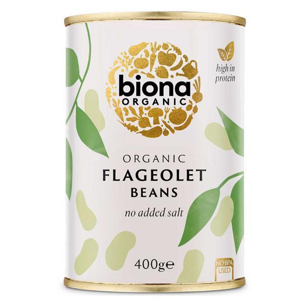 Flageolet Beans salt free, Vegan, ORGANIC