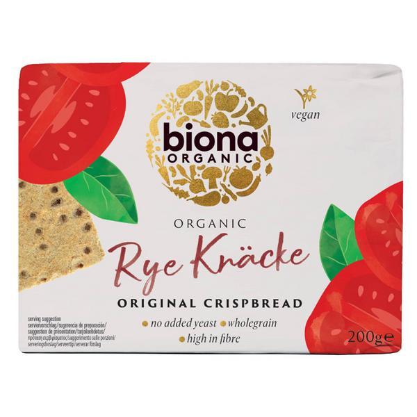 Original Rye Crispbread Vegan, ORGANIC