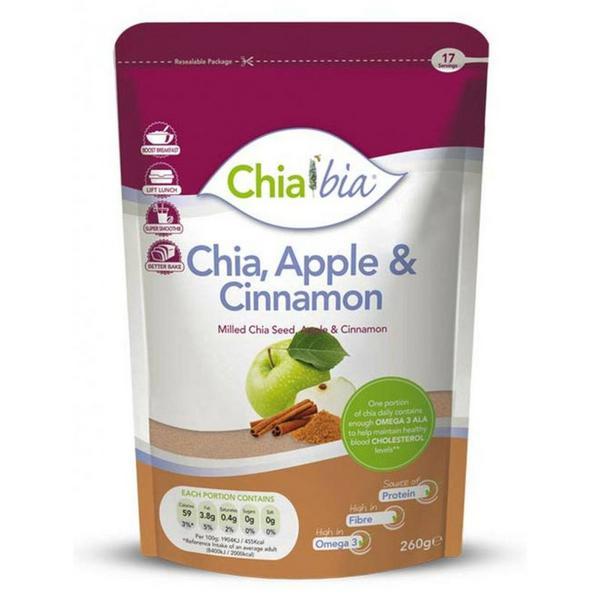 Apple & Cinnamon Chia Seed