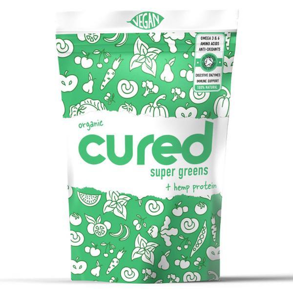 Super Greens Hemp Protein Powder Vegan, ORGANIC