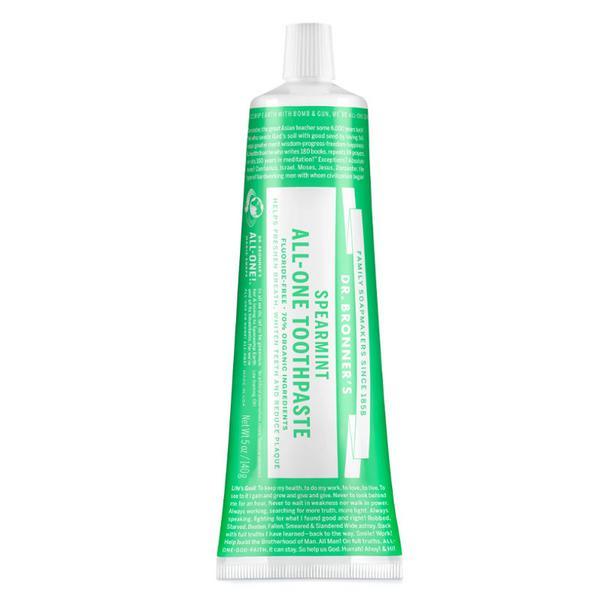 All-One Spearmint Toothpaste GMO free, Vegan