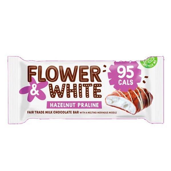 Hazelnut Praline Meringue Bar Gluten Free, FairTrade