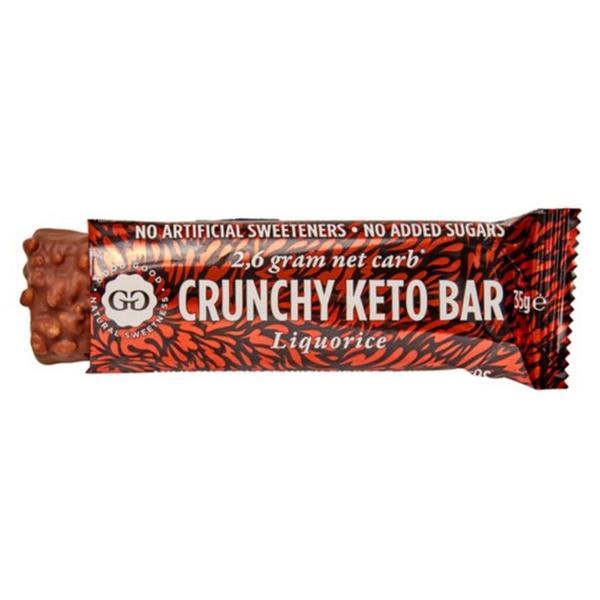 Liquorice Keto Bar sugar free