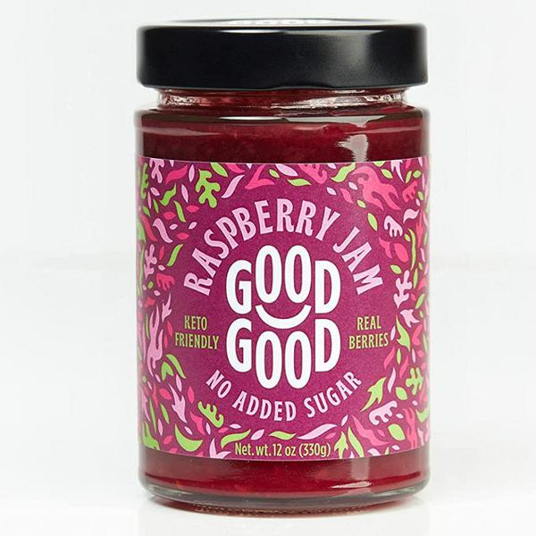 Raspberry Jam Gluten Free, sugar free, Vegan