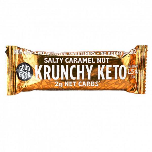 Salty Caramel Nut Keto Bar sugar free