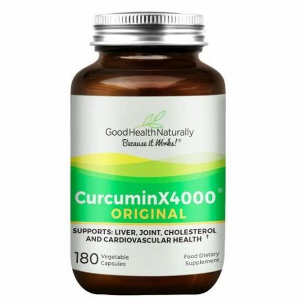 Curcumin X4000 Capsules Vegan