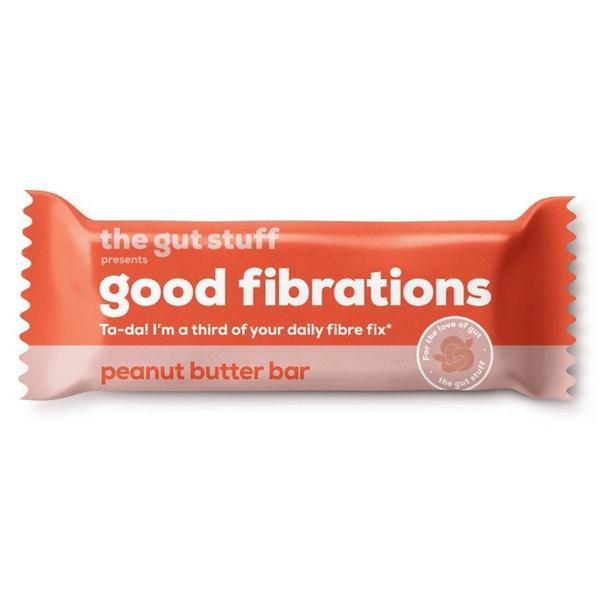 good fibrations Peanut Butter Bar Gluten Free, Vegan