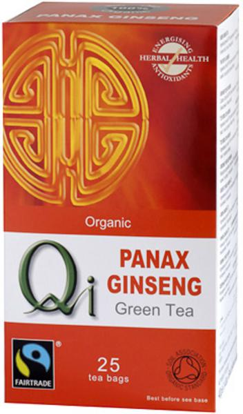 Green Tea With Ginseng ORGANIC