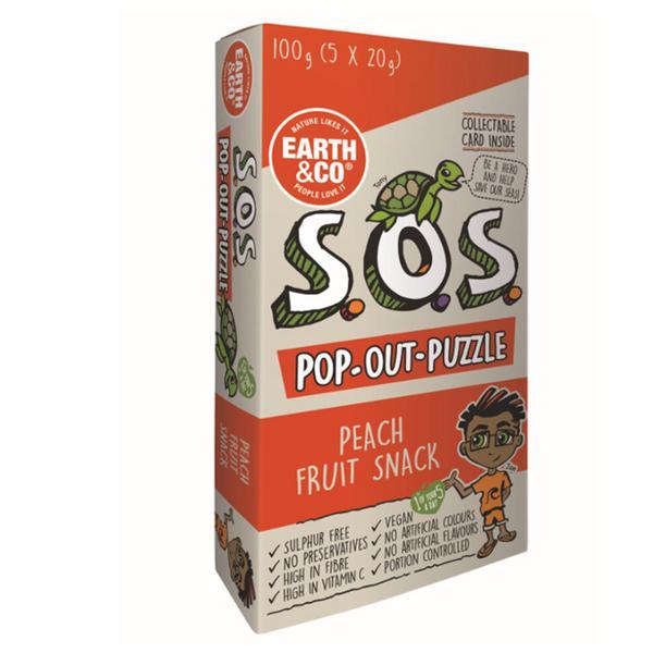 SOS Pop-Out-Puzzle Peach Fruit Salad Vegan