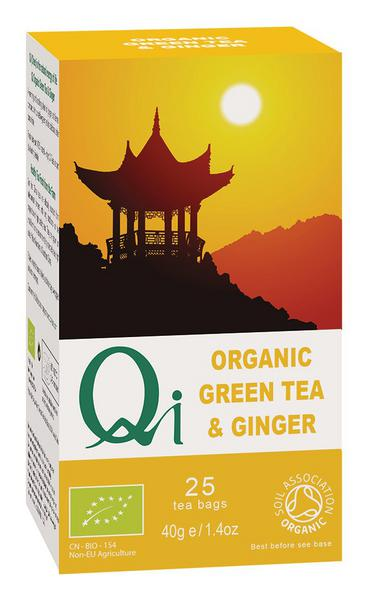 Green Tea & Ginger Tea ORGANIC