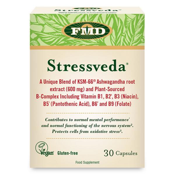 Ashwagandha Root Stessveda Capsules Vegan