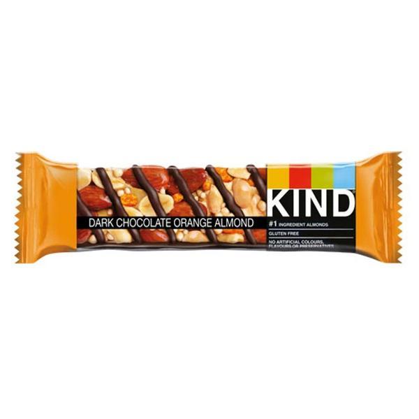 Dark Chocolate Orange & Almond Bar