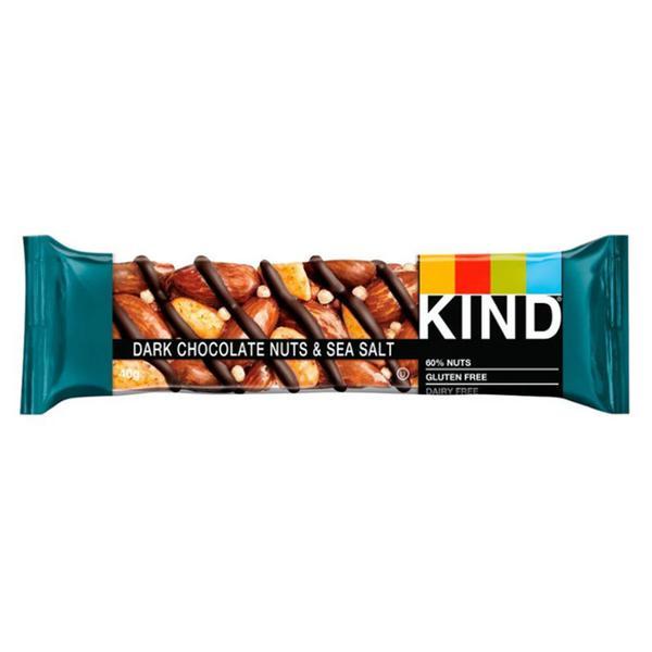 Bar Nuts & Sea Salt Dark Chocolate