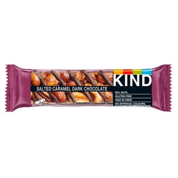 Salted Caramel & Dark Chocolate Bar