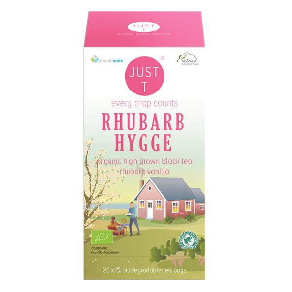 Rhubarb & Vanilla Black Tea ORGANIC