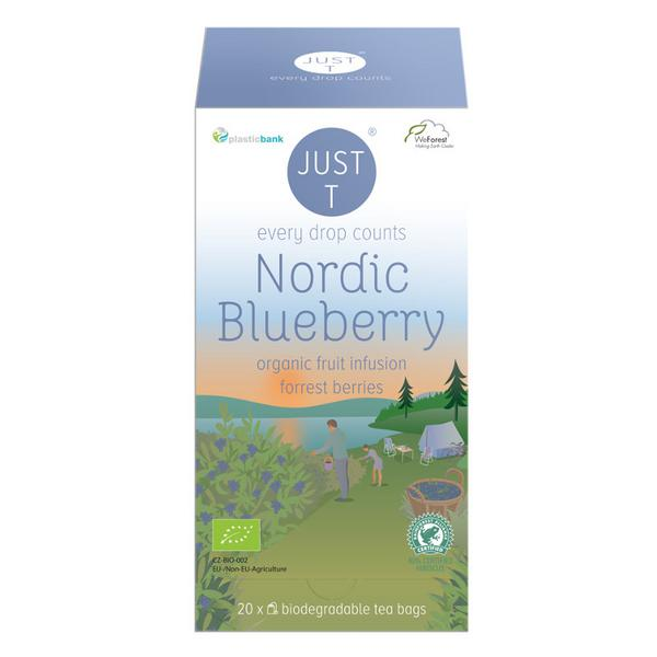 Nordic Blueberry Fruit Tea ORGANIC