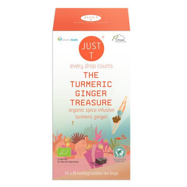 Treasure Turmeric & Ginger Herbal Tea ORGANIC