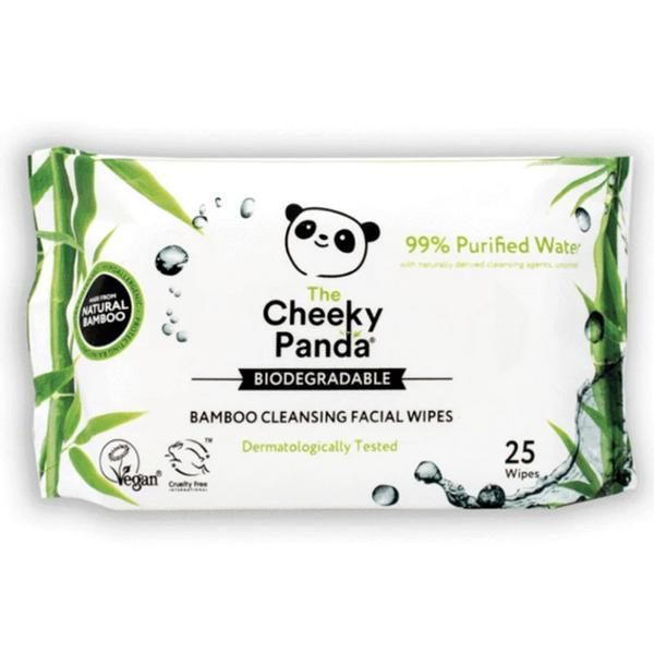 Bamboo Facial Wipes Unscented Biodegradable