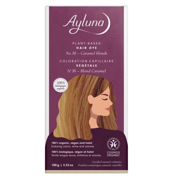Plant-Based Hair Dye Caramel Blond