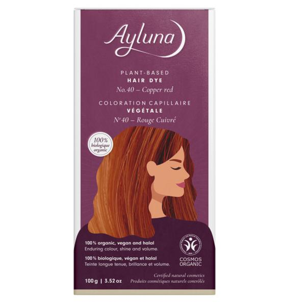 Plant-Based Hair Dye Copper Red