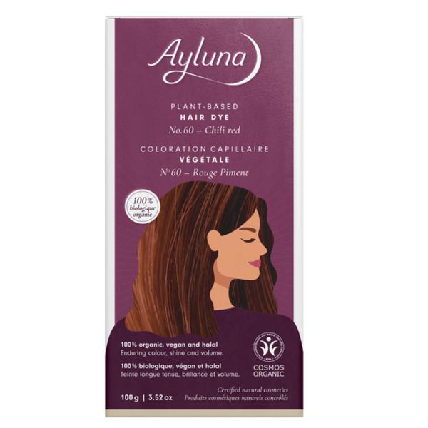 Plant-Based Hair Dye Chilli Red