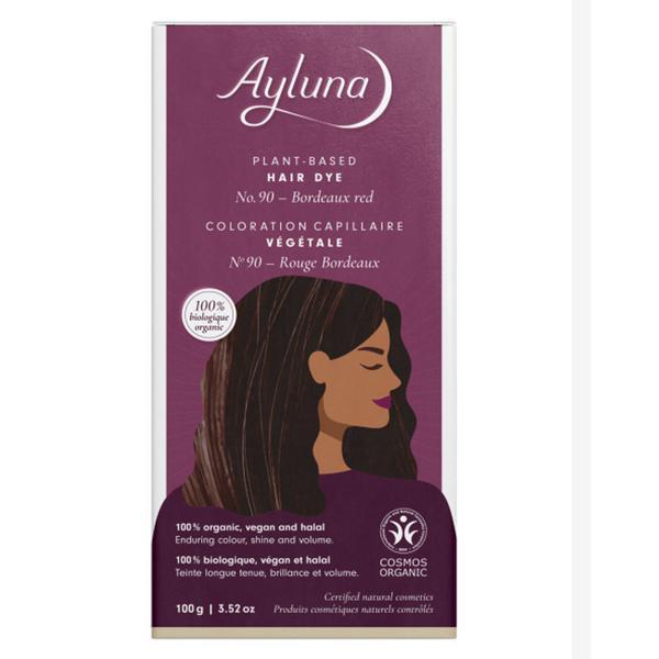 Plant-Based Hair Dye Bordeaux Red