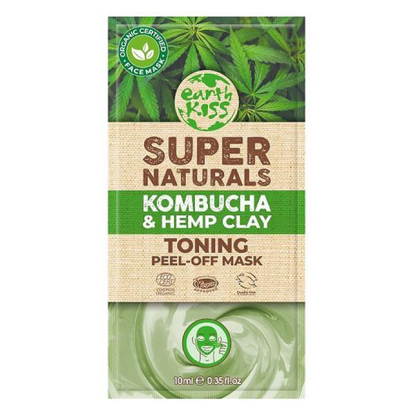 Super Naturals Toning Peel-Off Face Mask Kombucha & Hemp