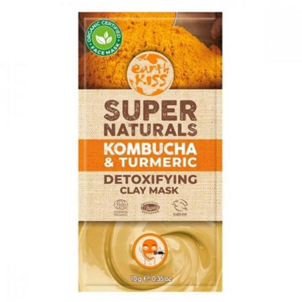 Super Naturals Clay Face Mask Kombucha & Turmeric