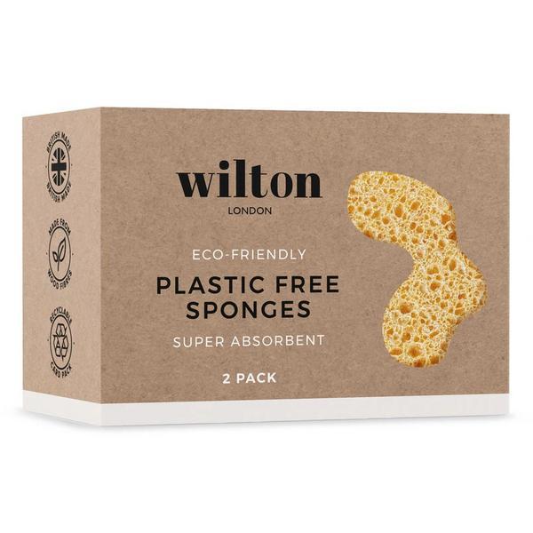 Plastic Free Eco Friendly Sponge Twin Pack