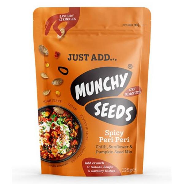Spicy Peri Peri Savoury Sprinkle Seeds Vegan